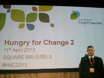 La Estación Experimental Cajamar participa en la conferencia mundial 'Hungry for change' en Bruselas sobre seguridad alimentaria